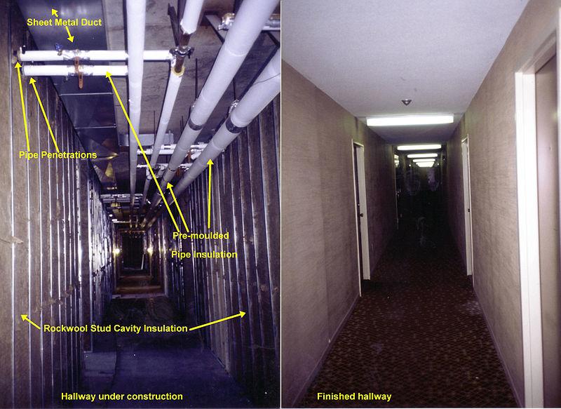 Hallway Insulation