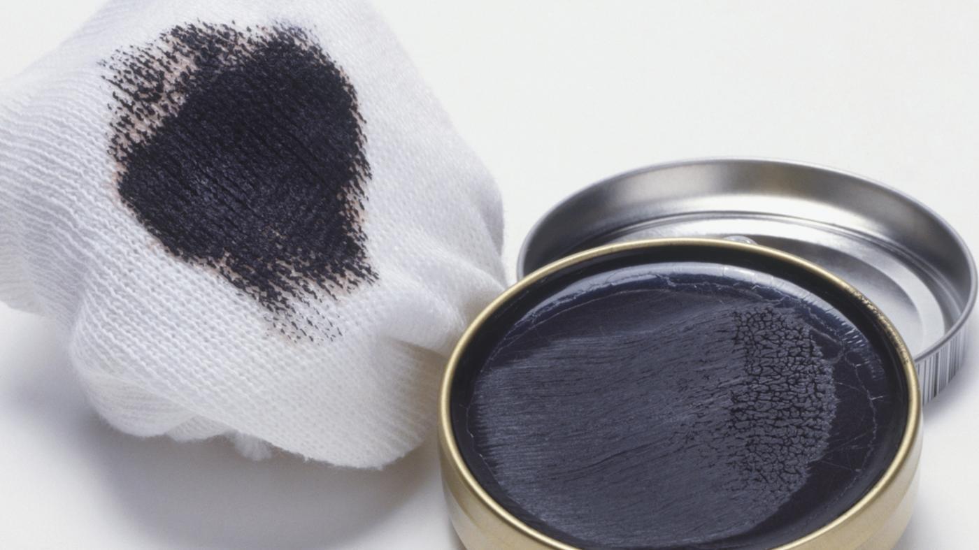 remove boot polish stain
