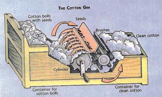 Cotton Ginning Process